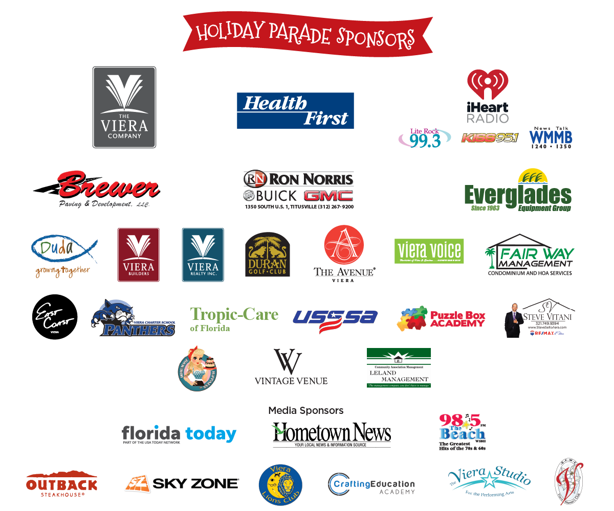Light Up Viera 2017 Sponsors