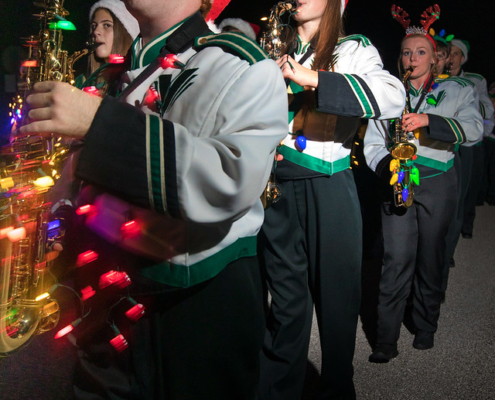 Viera High School Sax Section